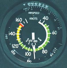 Cessna 172 Airspeed Indicator
