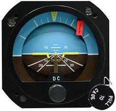 Cessna 172 Attitude Indicator