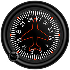 Cessna 172 Heading Indicator