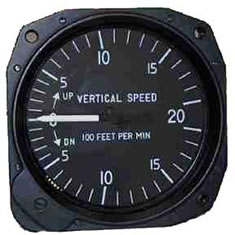 Cessna 172 Vertical Speed Indicator