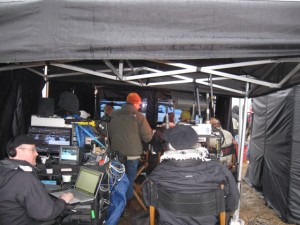 Filming Resident Evil: Afterlife - In the Director's Tent