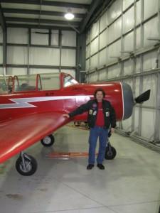 Milla Jovovich Stunt Pilot Martin Mattes