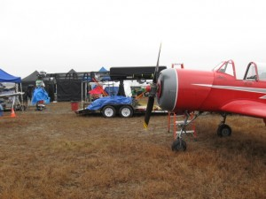 Yak-52 used for the Resident Evil: Afterlife 3D Movie