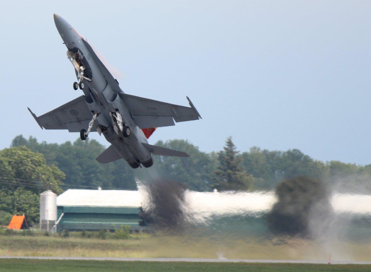 CF-18 Hornet Fighter Jet - Canadian Forces CF-18 Hornet Jet