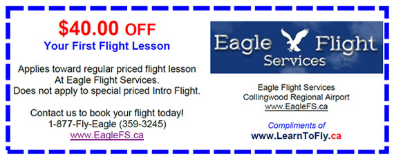 Eagle Flight Services - Discount Coupon - Flight Training