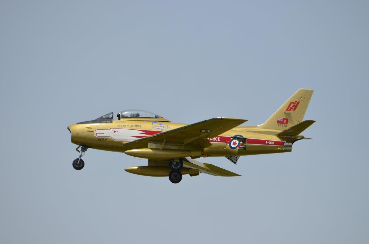 Cold War Heroes Air Show - Oro, Ontario