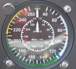 Twin Beech 18 Airspeed Indicator Gauge