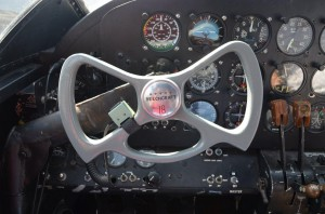 Twin Beech 18 Cockpit with Steam Gauges