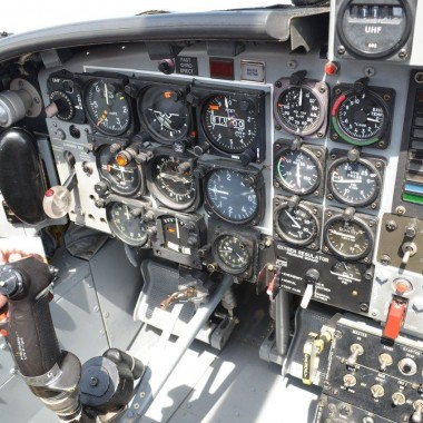 Inside the Snowbird Jet Cockpit. The Canadair CT-114 Tutor Jet.