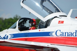 Canadair Cl-41 Tutor Jet - The Snowbirds Jet - Snowbird Tutor Jet