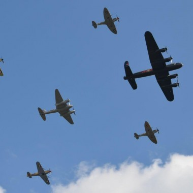 The Merlin Formation: 10 Rolls Royce Merlin Engines