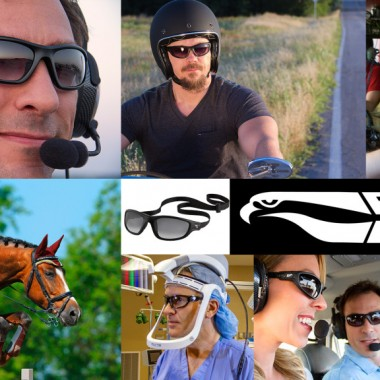 Flying Eyes Sunglasses - Headset Friendly Sunglasses for Pilots