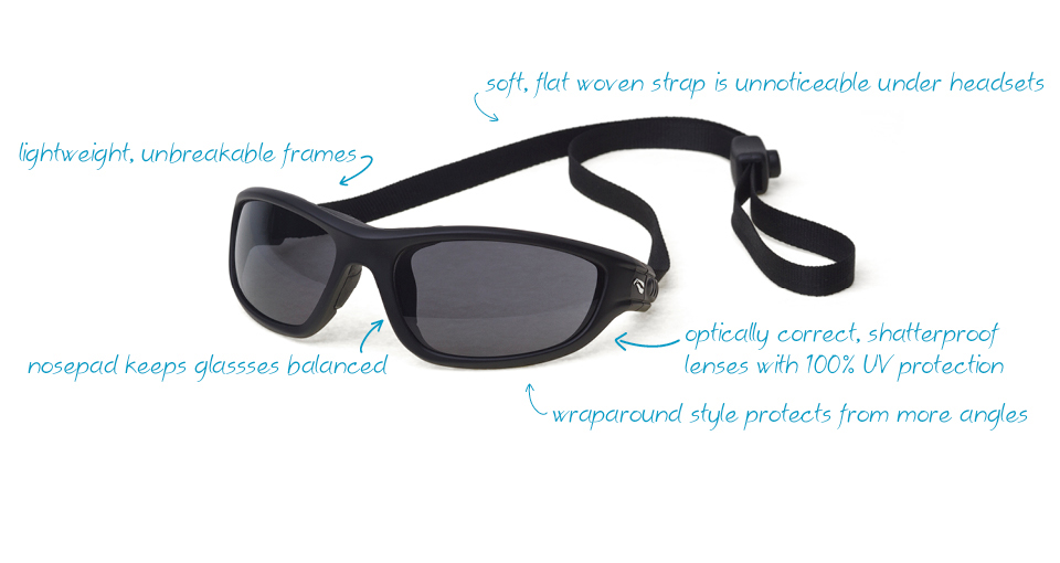 61d5a92cc2e1 Flying Eyes Sunglasses Review. Headset Friendly Sunglasses